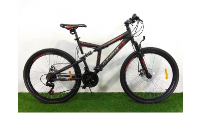 Спортивный горный велосипед Azimut 26 дюймов, двухподвесной
