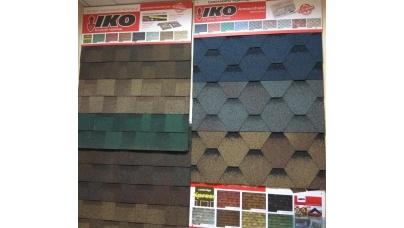 -30% на все формы и все цвета битумной черепицы IKO !!!