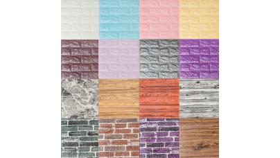 Декоративные 3д стеновые панели