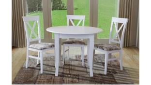 Комплектом - стол и стулья вместе покупать дешевле!