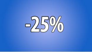 Акция Сентября -25%