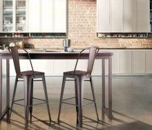 Барные стулья: от дерева до металла