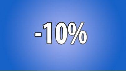 Знижка -10%