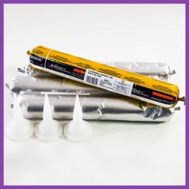 Герметик полиуретановый 600 мл для кровли Baugum Super Adhesive серый