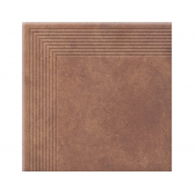Керамогранитная плитка Cerrad STOPNICE NAROZNA COTTAGE CHILI 300х300 мм