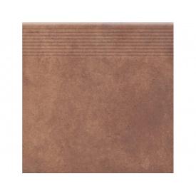 Керамогранитная плитка Cerrad STOPNICE PROSTA COTTAGE CHILI 300х300 мм
