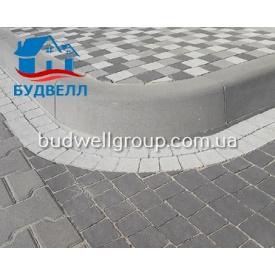 Тротуарная плитка Борт дорожный радиусный