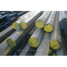 Шестигранник стальной калибр № 19 мм ст 20