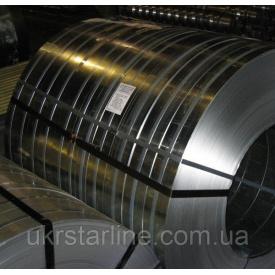 Стрічка пружинна сталь 65 Г гартована полірована 0,3х100 мм