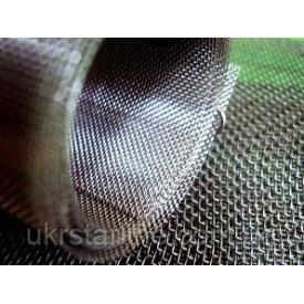 Сетка тканая нержавеющая от 0,04-0,03 до 120x120 мм