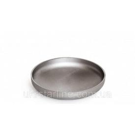 Заглушка нержавеющая 25/33,7х2 мм AISI 304
