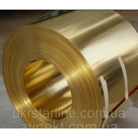 Лента латунная 1,0х212 мм Л63 мягкая