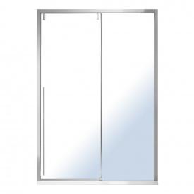 AIVA дверь в нишу 120x195 см раздвижная прозрачное стекло 8 мм хром