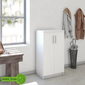 Шафа розпашній з полицями для одягу та взуття з ДСП 562х1080х402 мм