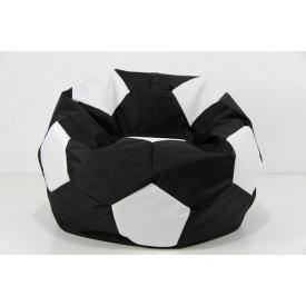 Кресло мяч черно-белый L 110 oxford 600