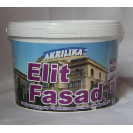Водоэмульсионная краска Akrilika Фасад 1,4 кг