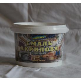 Эмаль акриловая водорастворимая 0,8 кг