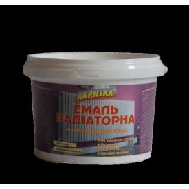 Akrilika Эмаль радиаторная белая 0,5
