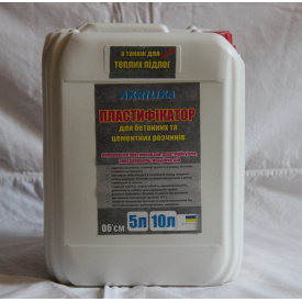 Пластифікатор для бетонних і цементних розчинів Akrilika 10 л