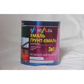 Грунт-эмаль 3 в 1 УРФ-1101 Fantazia темно-серая 2,6 кг