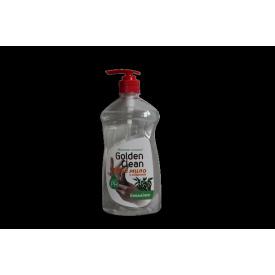 Жидкое мыло 500 мл эвкалиптc дозатором Golden Clean