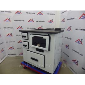 Отопительно-варочная печь Plamen Slavonac белая