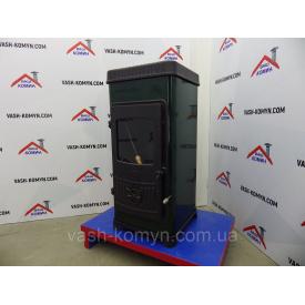 Чугунная печь-камин отопительная Plamen Dora 8 N 8 кВт
