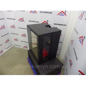 Чугунная печь-каминофен отопительная с подставкой под дрова Plamen Eco Minimal 35 11 кВт