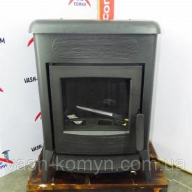 Чугунная печь-камин на ножках Plamen Amity 3 11 кВт