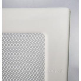 Камінна решітка фарбована 11х24 см білий