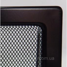 Камінна решітка фарбована 17/49 см чорний