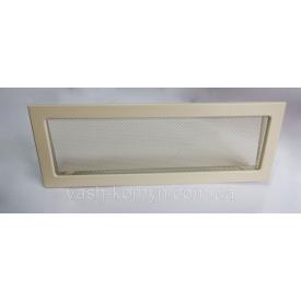 Камінна решітка фарбована 17/49 см кремовий