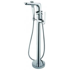 37561148 KATARINA Змішувач д/ванни з підлоги, хром