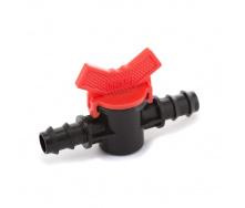 Кран кульовий прохідний Presto-PS для трубки 16 мм (MV-0116)
