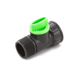 Кран кульовий Presto-PS з зовнішньою і внутрішньою різьбою 3/4 дюйма (4030)
