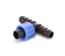Трійник йоржик Presto-PS для краплинної стрічки та трубки 16 мм (ВТ-021716)