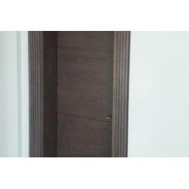 Изготовление межкомнатных дверей из массива ольхи со шпоном дуба