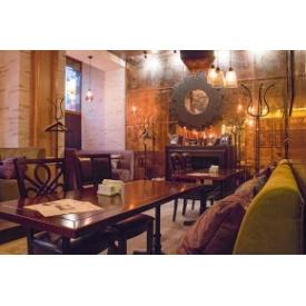 Стол для кафе Премьер Мебель дерево 1400х700х750 мм коричневый