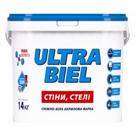 Краска интерьерная Sniezka Ultra Biel 1.4 кг