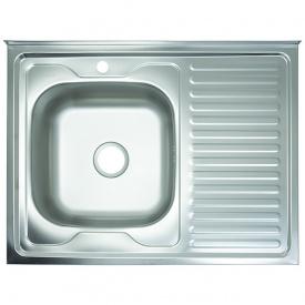 Кухонная мойка Kraft PD8060ELН 800*600*160 L Нержавейка