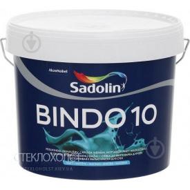 Краска Sadolin BINDO 10 10л матовая для стен с высокой устойчивостью к мытью
