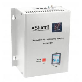 Стабілізатор напруги Sturm 5000 ВА настя PS93051RV релейний