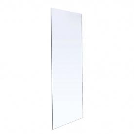 Стенка 800x1900 мм каленое прозрачное стекло 8мм VOLLE 18-08-80