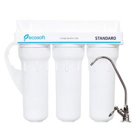 Тройной фильтр очистки воды Ecosoft Standard FMV3ECOSTD