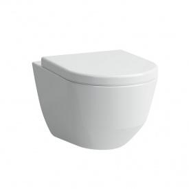 Комплект PRO унитаз подвесной 36x53см в комплекте с PRO сиденьем к унитазу с антибактериальным покрытием LAUFEN H8209560000001+H8969513000001