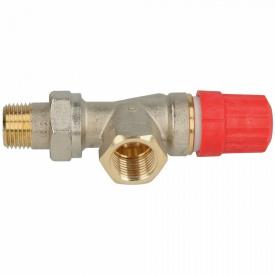 Danfoss Клапан RA N 15 термостатический осевой вх 1/2 013G0153