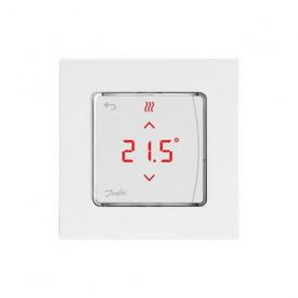 Danfoss Терморегулятор Icon RT Display In Wall 0-40 C сенсорный встраиваемый 24V 088U1050