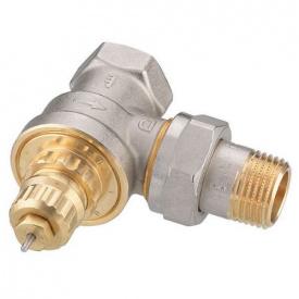 Термостатичний клапан Danfoss RA G 15 для однотрубної системи кутовий 013G1676