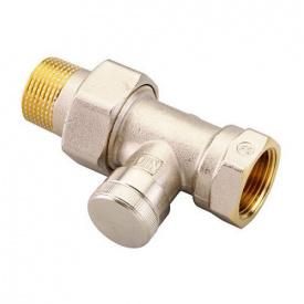 Запорный клапан Danfoss RLV 20 для однотрубной системы прямой 003L0146