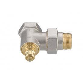 Клапан Danfoss RA G 25 для однотрубной системы отопления угловой никель DN25 013G1680